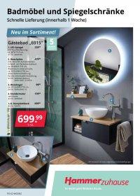 Hammer Flyer | Badmöbel und Spiegelschränke