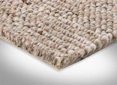 verschiedene Gr/ö/ßen Teppichboden Auslegware Meterware wei/ß beige Sisal-Optik Schlinge Gr/ö/ße: 1 Muster 400 und 500 cm Breite