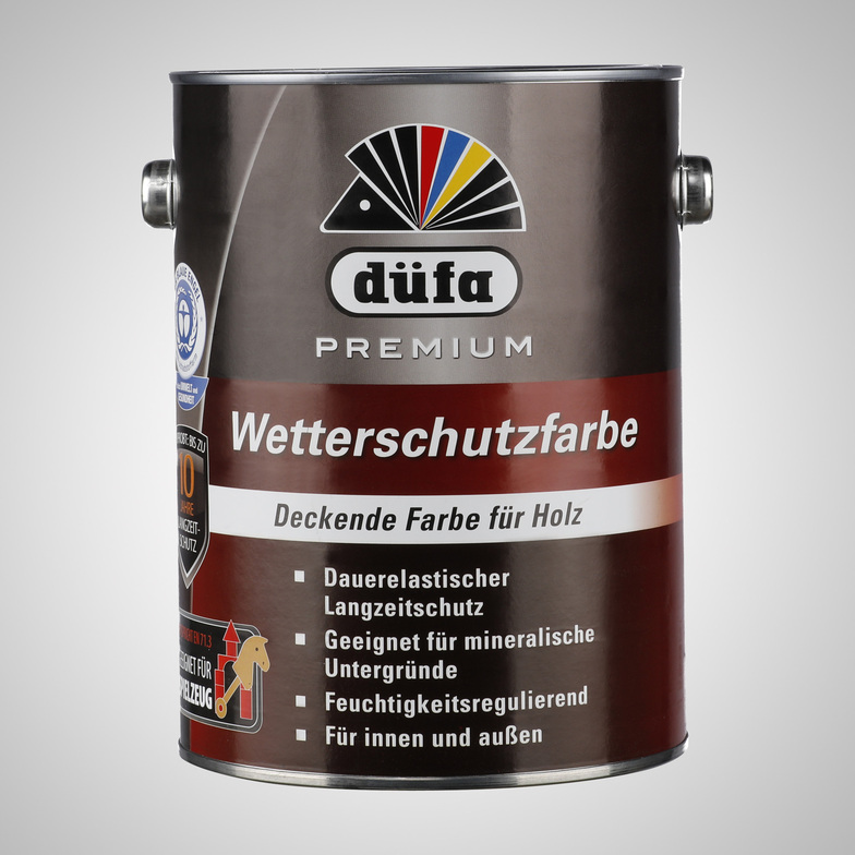 d fa premium wetterschutzfarbe 2 5 l anthrazit farbe hammer website. Black Bedroom Furniture Sets. Home Design Ideas