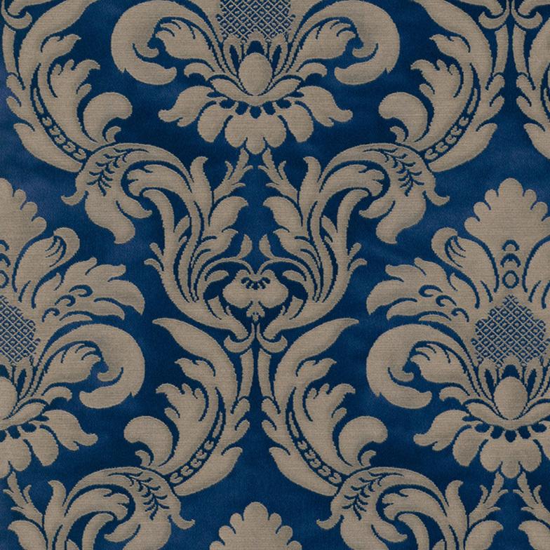 vliestapete ornament royalblau gold alle hammer zuhause. Black Bedroom Furniture Sets. Home Design Ideas