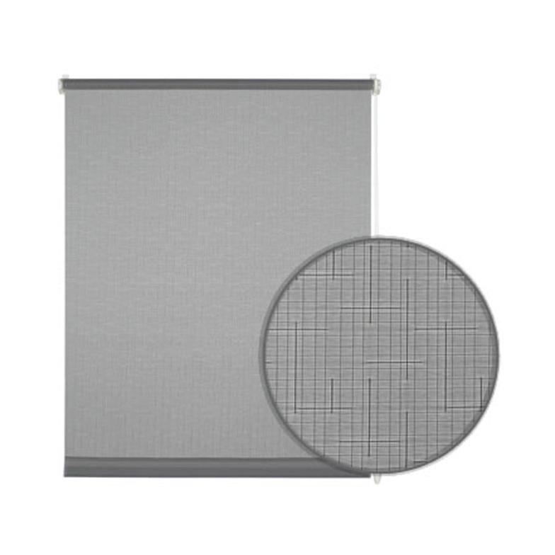 easyfix rollo hellgrau 75 x 150 cm ma e hammer zuhause. Black Bedroom Furniture Sets. Home Design Ideas